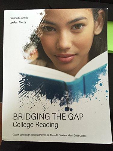 9781269402705: Bridging the Gap College Reading