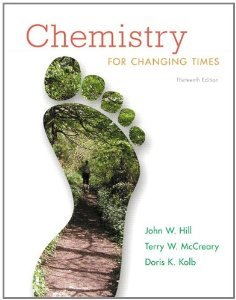 9781269404747: Chemistry for Changing Times (Second Edition for Northern Kentucky University)