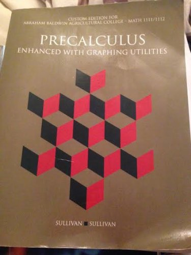 9781269409261 Precalculus Enhanced With Graphing Utilities