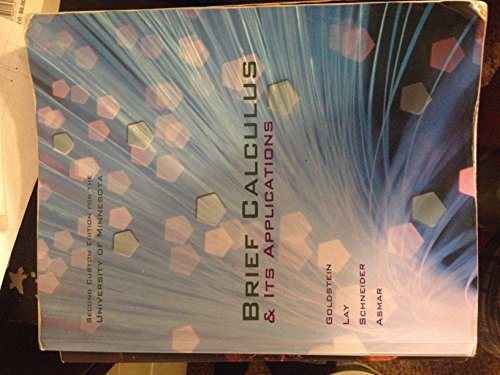 9781269412261: Brief Calculus & Its Applications, 13th 2014 Custom U MN