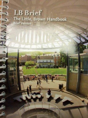 9781269412285: LB Brief: The Little, Brown Handbook, Brief Version [5e] (Albright College)