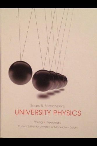 9781269413671: University Physics Custom Edition for University of Minnesota - Duluth
