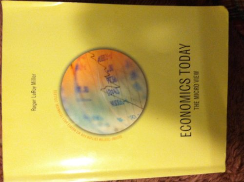 9781269413701: Economics Today The Micro View Second Custom Edition For Milwaukee Area Technical College