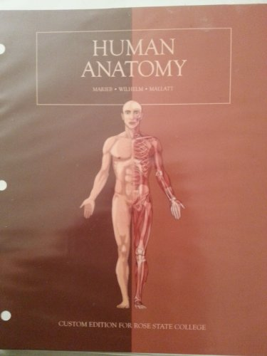 9781269415811: Human Anatomy custom ed. for Rose State College