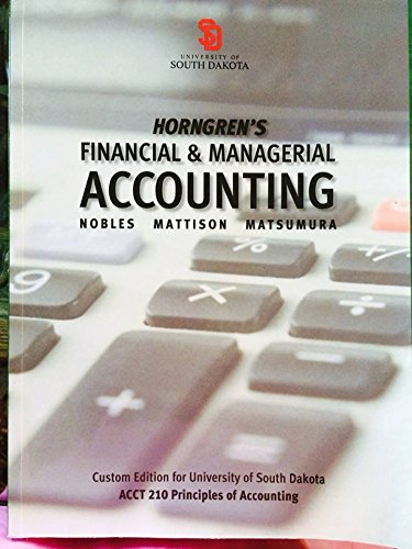 9781269417112: Horngren's Financial & Managerial Accounting