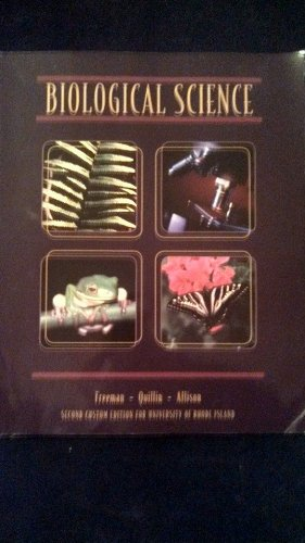 9781269418300: Biological Science (Second Edition for University of Rhode Island)