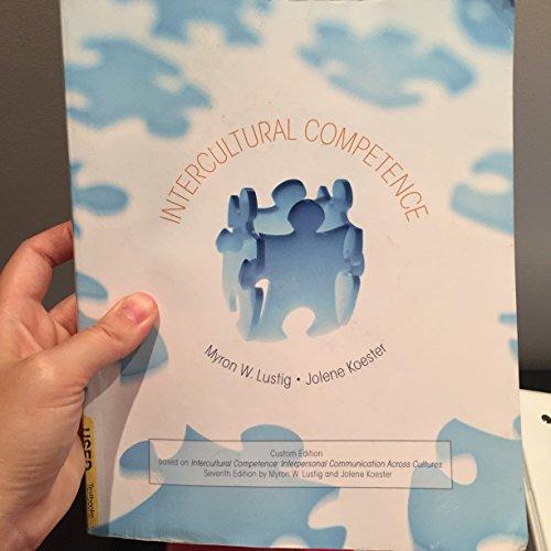 9781269421195: Intercultural Competence (Custom Edition)