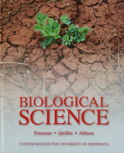 9781269422079: Biological Science (University of Minnesota Edition)