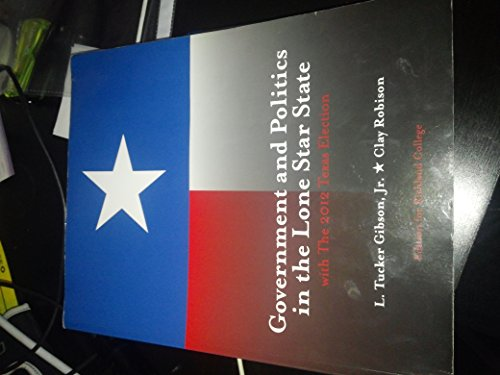 9781269422413: Government and Politics in the Lone Star State with The 2012 Texas Election