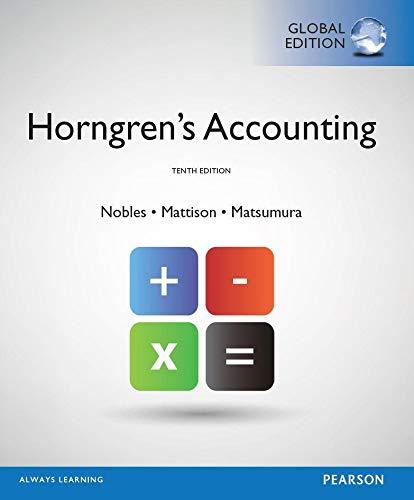 9781269424691: Horngren's Accounting