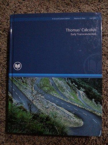 9781269424905: Thomas' Calculus