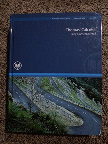9781269424905: Thomas' Calculus