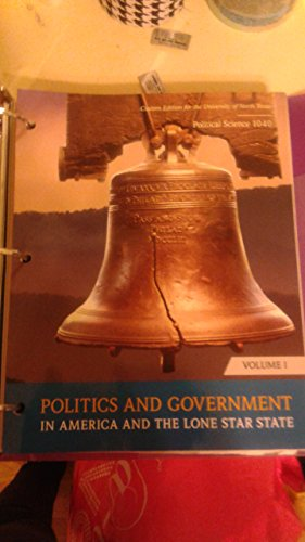 9781269427531: Politics and Government in America and the Lone Star State