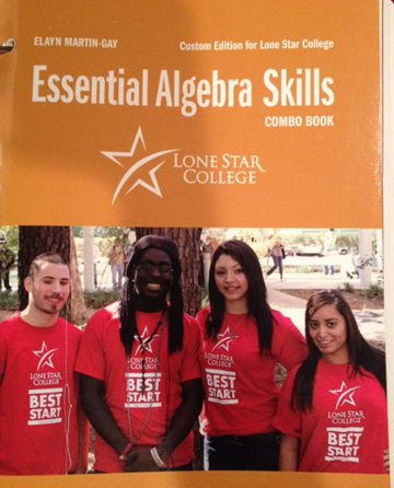9781269430753: Essential Algebra Skills Combo Book - Lone Star College