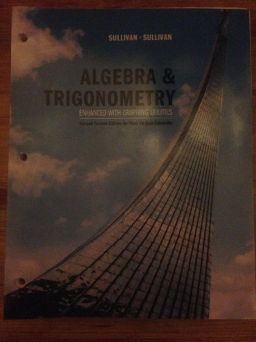 9781269434034: Algebra & Trigonometry