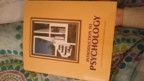 9781269434829: Introduction to Psychology (Custom for AACC) w/ Student Access Code Card for MyPsychLab with eText