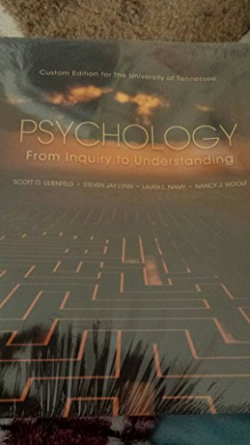 9781269435819: Psychology From Inquiry to Understanding