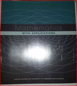 9781269439114: Mathematics with Applications Custom Edition for Ut Chattanooga