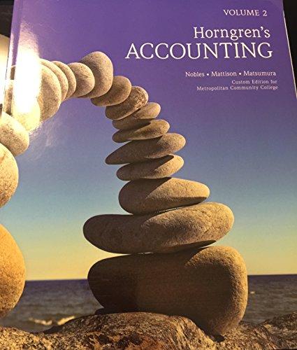 9781269440745: Horngren's Accounting Volume 2