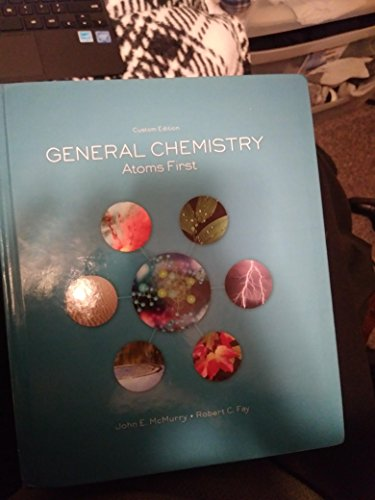 9781269441902: General Chemistry Atoms First Custom Edition