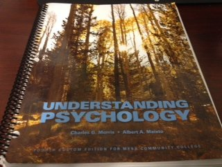 9781269441988: Understanding Psychology Fourth Edition for Mesa Community College