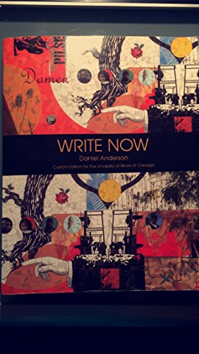 9781269443739: Write Now Custom Edition for UIC Along with Student Access Code