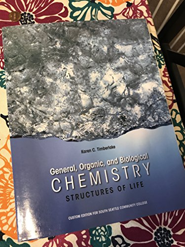 9781269444057: General Organic and Biological Chemistry Structures of Life