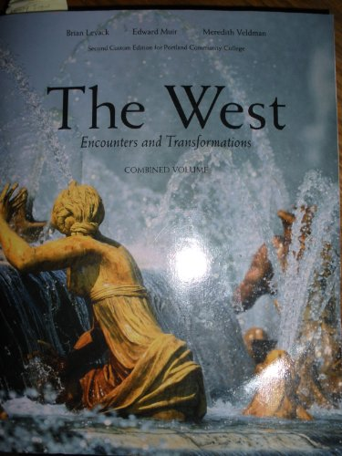 9781269444781: The West Encounters and Transformations Combined Volume