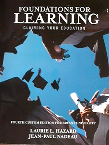 9781269444880: Foundations For Learning
