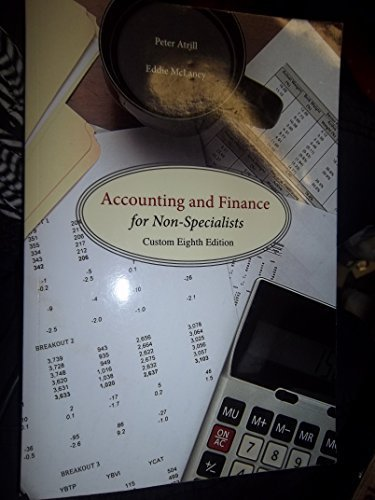 9781269445924: Accounting and Finance for Non-Specialist Custom Eighth Edition