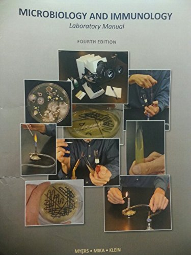 9781269452304: Microbiology and Immunology Laboratory Manual