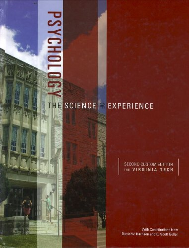 Psychology: The Science of Experience, 3/e (2/e: Carlson and Heath
