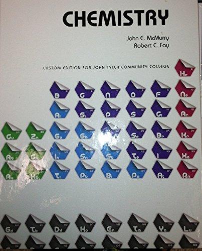 9781269461313: Chemistry Custom Edition for John Tyler Community College
