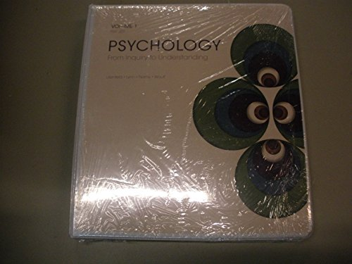 9781269518680: Psychology From Inquiry to Understanding Volume 1 PSY 201 2nd Custom Edition for Portland Community College - Sylvania