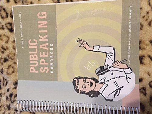 9781269545877: Public Speaking Handbook (Custom Edition for Olivet Nazarene University)