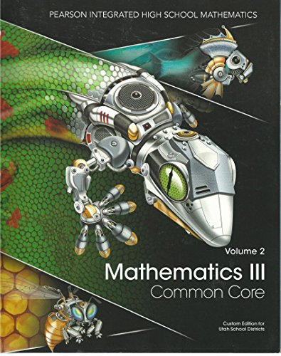 Mathematics III, Common Core, Volume 2 (2014),: Basia Hall, Dan