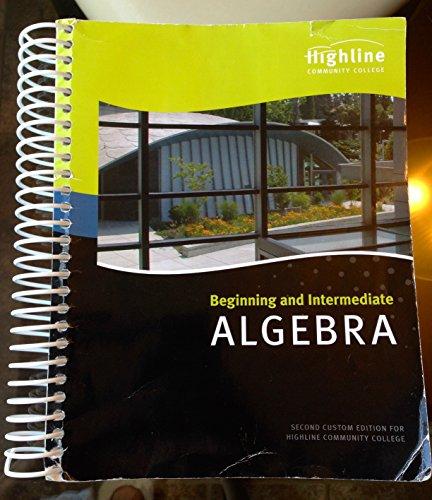 9781269563048: Beginning and Intermedia ALGEBRA
