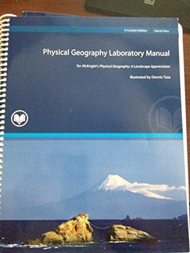 Physical Geography Laboratory Manual: Darrel Hess