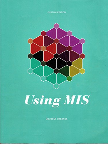 9781269591133: Using MIS Custom Edition (Fifth Edition)