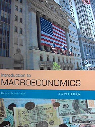 Introduction to Macroeconomics: Christianson, Kenny
