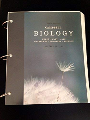9781269597852: Biology, Campbell, 10th Edition
