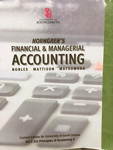 9781269599467: Horngren's Financial & Managerial Accounting