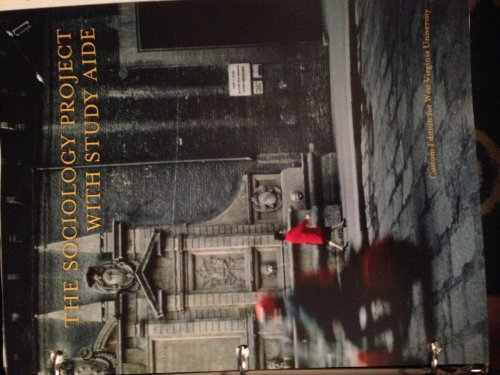 9781269601351: The Sociology Project: Introducing the Sociological Imagination (WVU version with Study Aide)