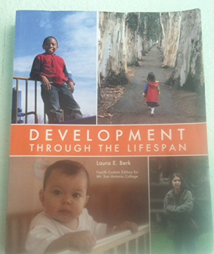 9781269603546: Development Through the Lifespan (Custom Edition for Mt. San Antonio College)