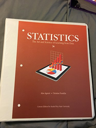 9781269606967: Statistics The Art and Science of Learning from Data