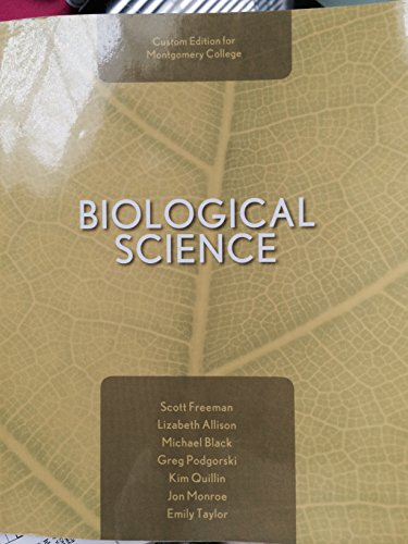 9781269613194: Biological Science custom edition for Montgomery college