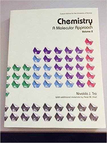 9781269619899: Chemistry a Molecular Approach Volume 2 (Custom Edition for the University of Kansas)