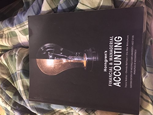 9781269621977: Horngren's Financial & Managerial Accounting