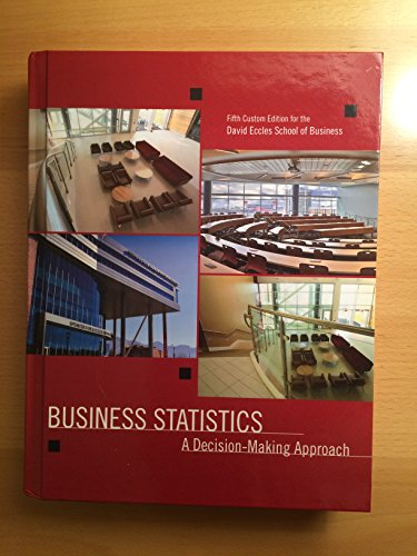 9781269628952: Business Statistics: A Decision-making Approach