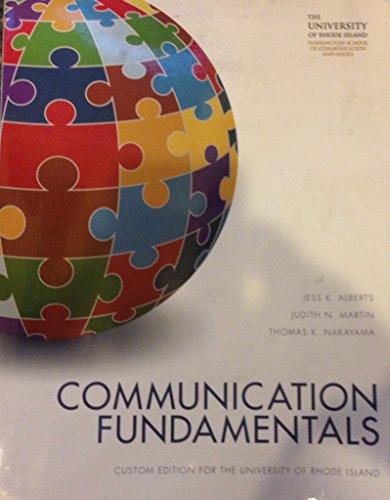 9781269634281: Communication Fundamentals (Textbook Binding)